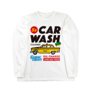 BUSCEMISのCAR WASH Long sleeve T-shirts