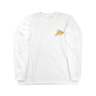 クアトロフォルマッジ先輩 Long sleeve T-shirts
