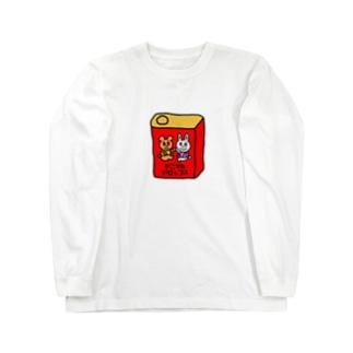 アニマルドロップス Long sleeve T-shirts