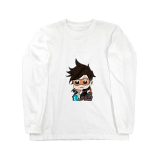トレーサー〜ポプテ風味〜 Long sleeve T-shirts