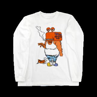 7dimensionsのcrab gang Long sleeve T-shirts