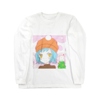AkinoAliceの冬のおんなのこ Long sleeve T-shirts