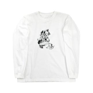 dog 2018産 Long sleeve T-shirts
