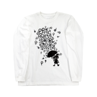 AURA_HYSTERICAのSingin' in the Rain Long sleeve T-shirts
