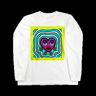 JasminEのハートブレイク Long sleeve T-shirts