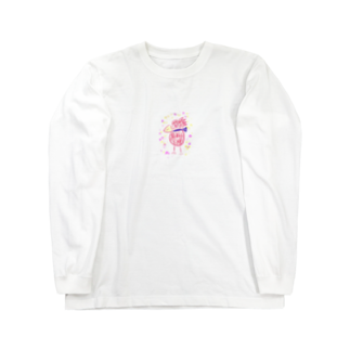 manamanawaruのアカワルビロ Long sleeve T-shirts