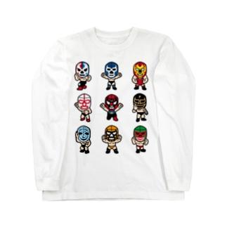LUCHADOR nueve Long sleeve T-shirts
