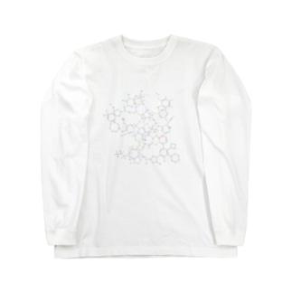化学構造式シリーズ5 Long sleeve T-shirts