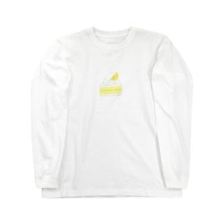 レモンケーキ Long sleeve T-shirts