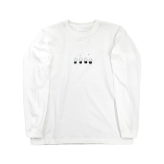 そらまめぼうず(合唱) Long sleeve T-shirts