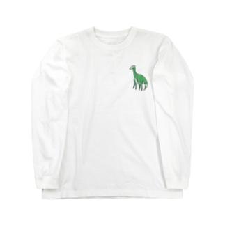 恐竜 Long sleeve T-shirts