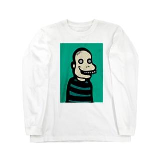 あへへ Long sleeve T-shirts