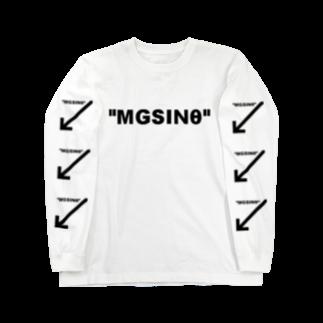 理系 ファッションのmgsinθ Long sleeve T-shirts