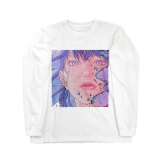 【ブス界へようこそ】 「闘え、私。」 Long sleeve T-shirts