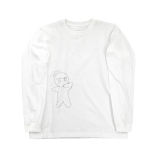 びっくりよころん Long sleeve T-shirts
