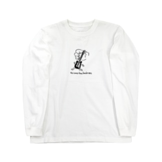 Run away from bandmans Long sleeve T-shirts
