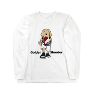 バスケット2(前面) Long sleeve T-shirts