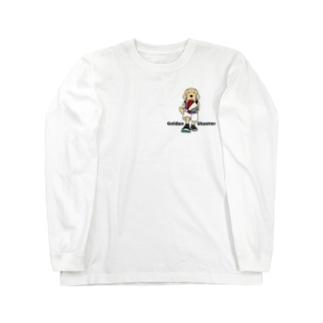 バスケット(両面2) Long sleeve T-shirts