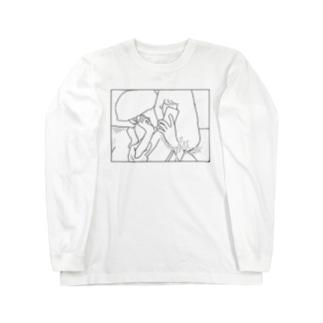 ちさととよんじ Long sleeve T-shirts