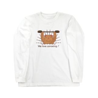 We love canoeing ! Long sleeve T-shirts