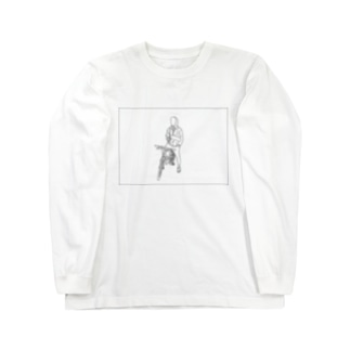 してぃぼーい黒線 Long sleeve T-shirts