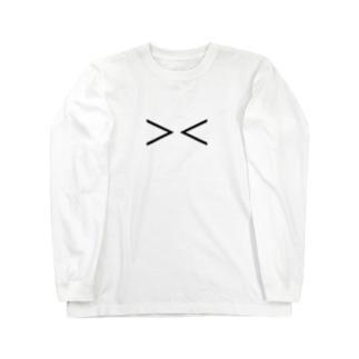 泣き顔 Long sleeve T-shirts