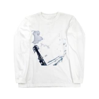 曇?雲 Long sleeve T-shirts