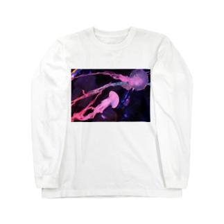 ゆらゆ らシリーズ(紫) Long sleeve T-shirts