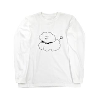 もふもふコッティ Long sleeve T-shirts