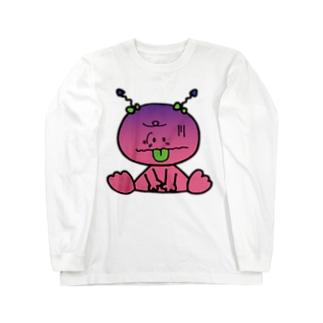 ウンチ・ Long sleeve T-shirts