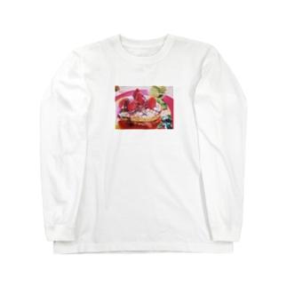 糖分 Long sleeve T-shirts