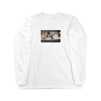 不穏 Long sleeve T-shirts