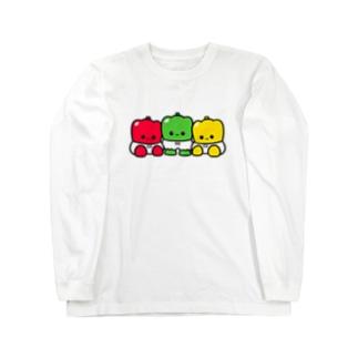 ミーパンとパプミーパン Long sleeve T-shirts
