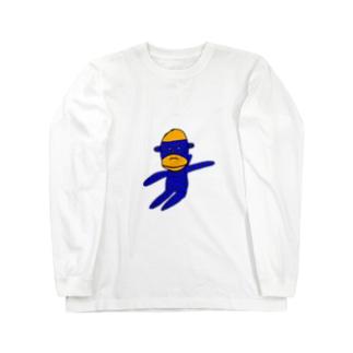 ソックモンキー Long sleeve T-shirts