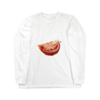おトマト Long sleeve T-shirts
