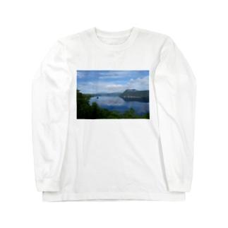 夢の摩周湖 Long sleeve T-shirts