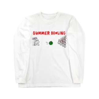 サマーボーリング Long sleeve T-shirts