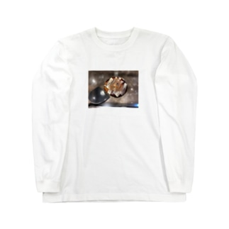 ひとりで行った昼飯 Long sleeve T-shirts