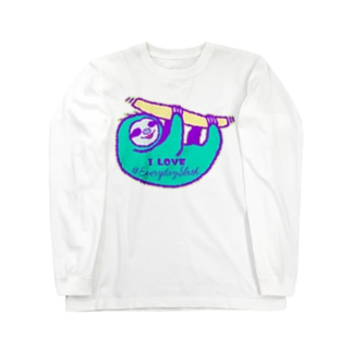 VIVID SLOTH Long sleeve T-shirts