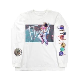 flower Long sleeve T-shirts