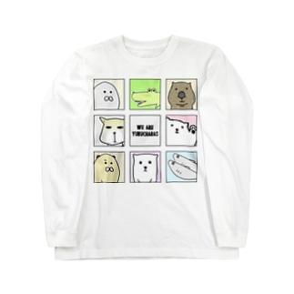 ゆるきゃらズ 大集合ver. Long sleeve T-shirts