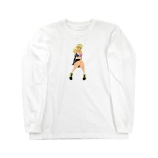 擬人化エゴレモンロンT Long sleeve T-shirts