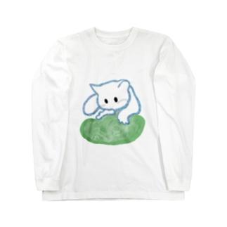 ふみふみねこ Long sleeve T-shirts