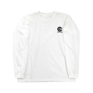 コエンタイムロゴ[刷色:黒] Long sleeve T-shirts