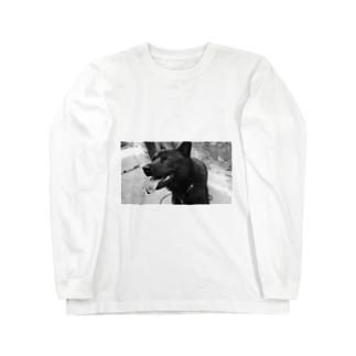 ワンワンティ Long sleeve T-shirts