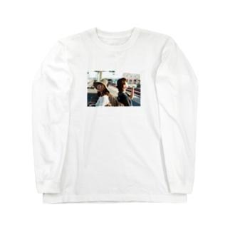館山の駅のホーム Long sleeve T-shirts