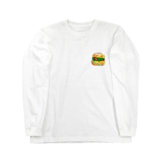シュークリーム Long sleeve T-shirts