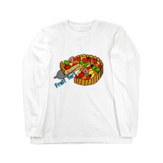 フルーツタルト Long sleeve T-shirts