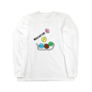 マカロン Long sleeve T-shirts
