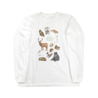 Wild animal japan Long sleeve T-shirts